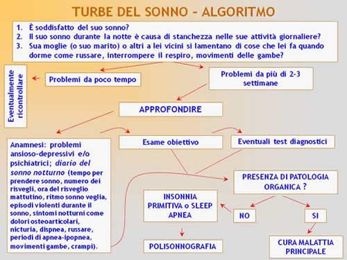 Insonnia - Algoritmo
