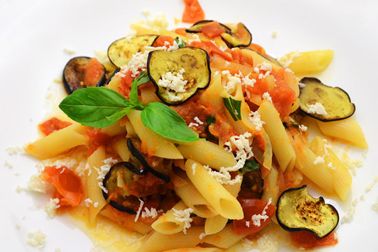 Pasta alla norma - Cucina gourmet ricette ...