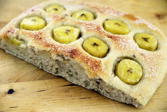 Focaccia alle banane e anice - Cucina gourmet ricette ...