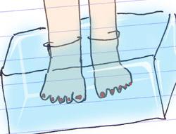 Freddo ai piedi nello sci